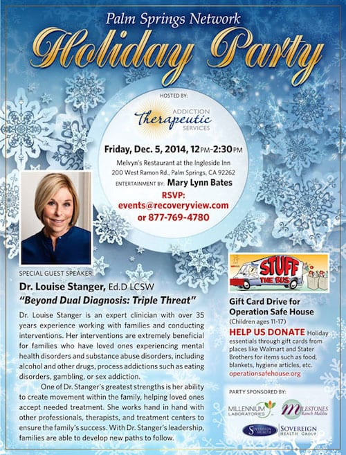 Palm Springs Network Holiday Party