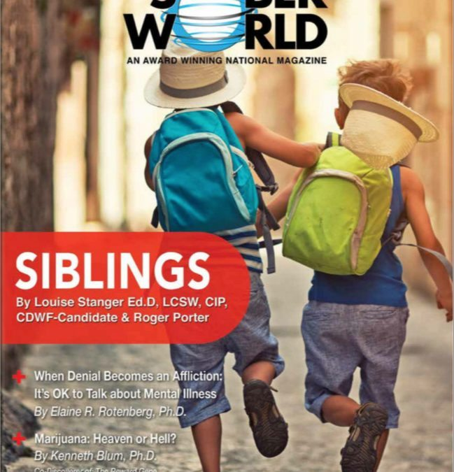 Siblings – The Sober World Cover Article