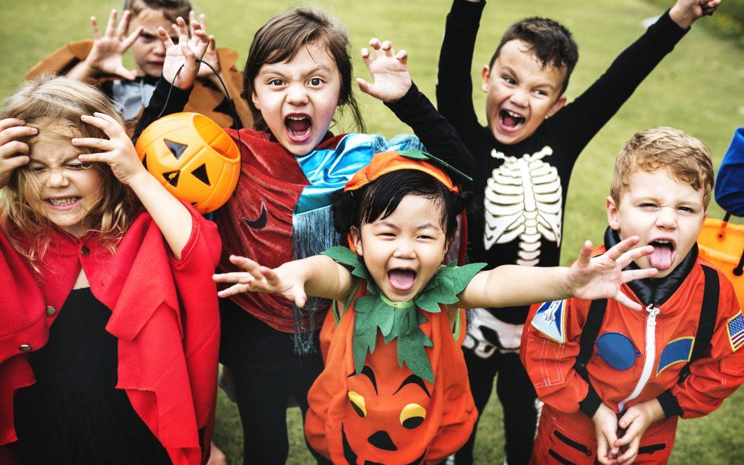 Happy Halloween, Trick or Treat Part 1