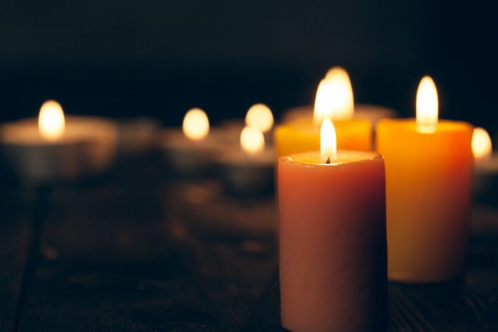 grief candles