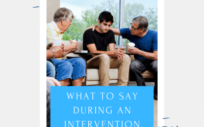 What To Say During An Intervention