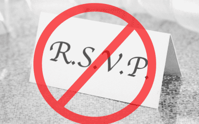 You don't have to RSVP for Every Drama You are Invited To