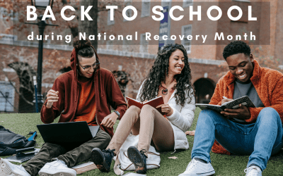 Back to School During National Recovery Month